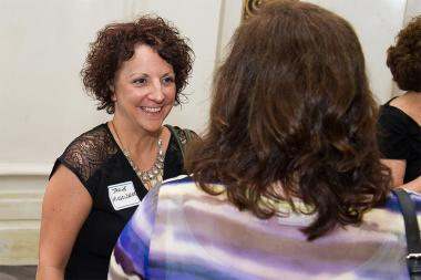 Janine McGoldrick at Networking Night Out NYC! at the St. Regis Hotel in New York City, June 12, 2015.