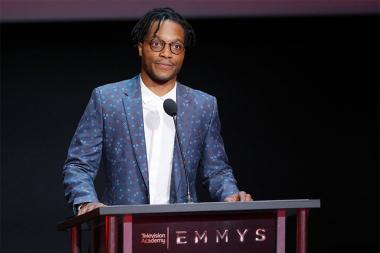 Jermaine Fowler at the L.A. Area Emmy Awards presented at the Television Academy's Wolf Theatre at the Saban Media Center on Saturday, July 22, 2017, in North Hollywood, California.