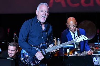 John Debney and Rickey Minor perform at WORDS + MUSIC, presented Thursday, June 29, 2017 at the Television Academy's Wolf Theatre at the Saban Media Center in North Hollywood, California.