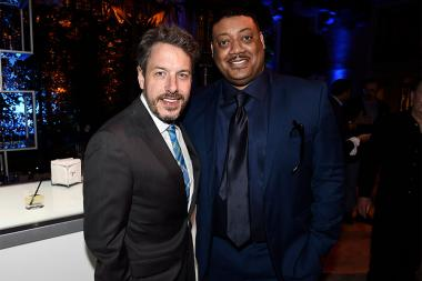 John Ross Bowie and Cedric Yarbrough at the 2017 Television Academy Honors at the Montage Hotel on Thursday, June 8, 2017, in Beverly Hills, California.