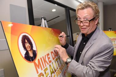 Nigel Lythgoe at Mike Darnell: Reality TV's Great Provocateur at the Saban Media Center in North Hollywood, California, March 29, 2017.