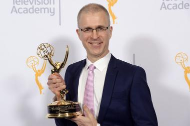 Mark Franken at the 2015 Engineering Emmys at the Loews Hotel in Los Angeles, October 28, 2015.