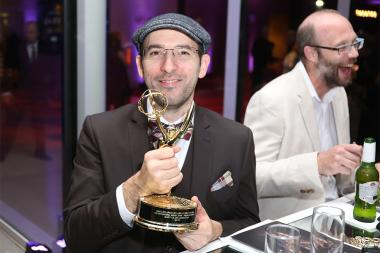 Matt Glass at the L.A. Area Emmy Awards presented at the Television Academy's Wolf Theatre at the Saban Media Center on Saturday, July 22, 2017, in North Hollywood, California.