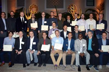 2015 Emmy Award nominees at the Music nominee reception September 10, 2015 in Los Angeles, California.