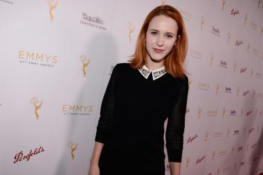 Rachel Brosnahan at the Casting Directors nominee reception September 10, 2015 in Los Angeles, California.