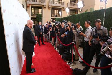 The red carpet at the Performers Peer Group Celebration August 24 at the Montage in Beverly Hills, California.
