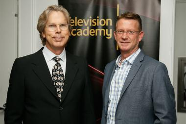 Sam Painter and David Mitlyng at the Documentary Programming and Reality Programming nominee reception September 11, 2015 in Los Angeles, California.