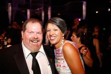 Television Academy governor Scott Boyd with his wife Lupe Boyd at the 2015 Creative Arts Ball.