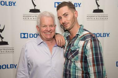 Spike Jones, Jr. and Taylor Jones at the Sound and Sound Editors nominee reception September 10, 2015 in Los Angeles, California.