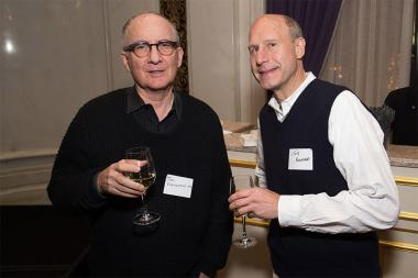 Tom Houghton and Tom Kaniewski at the New York Networking Night Out, November 13, 2015 at the St. Regis in New York City.