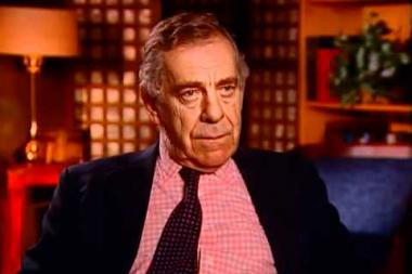 Embedded thumbnail for Morley Safer on the Cam Ne story, during which he reported on American soldiers burning a Vietnamese village
