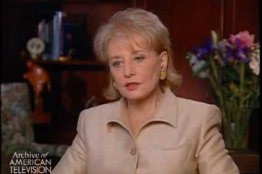 Embedded thumbnail for Barbara Walters on her role on the Today show