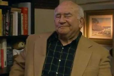 """Embedded thumbnail for Ed Asner on """"Lou Grant""""'s """"I hate spunk!"""" from The Mary Tyler Moore Show"""
