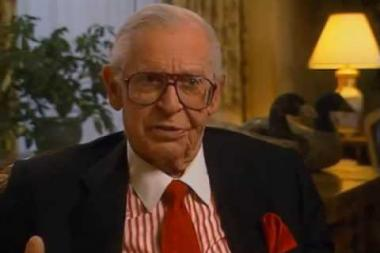 """Embedded thumbnail for Milton Berle on how the moniker """"Uncle Miltie"""" came about"""