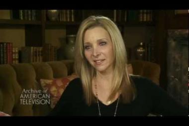 """Embedded thumbnail for Lisa Kudrow on how she was encouraged to create an """"airhead"""" character, while in the Groundlings studying with Cynthia Szigeti"""