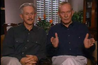 "Embedded thumbnail for Tom and Dick Smothers on the origin of Tom's ""mom always liked you best"" catchphrase"