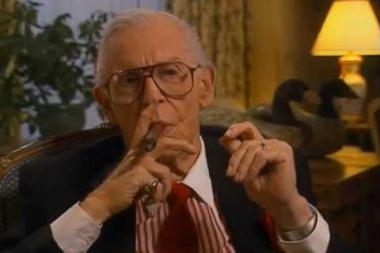 Embedded thumbnail for Milton Berle on how he'd like to be remembered