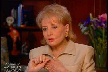 Embedded thumbnail for Barbara Walters on how she secures interviews and some of the interviews she treasures