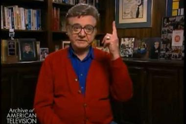"""Embedded thumbnail for Steve Allen on coining the phrase """"bigger than a bread box"""" on What's My Line?"""