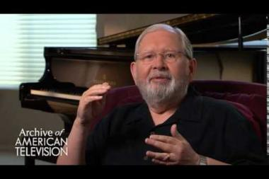 Embedded thumbnail for Alf Clausen on advice to an aspiring television composer