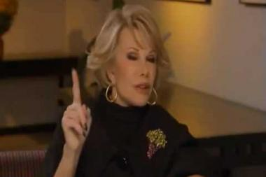 Embedded thumbnail for Joan Rivers on guest-starring on The Lucy Show
