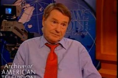 Embedded thumbnail for Jim Lehrer on covering the Vietnam war