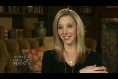 """Embedded thumbnail for Lisa Kudrow on being apprehensive about auditioning for James Burrows for Friends: """"no notes"""""""