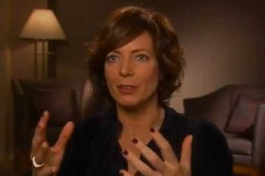 """Embedded thumbnail for Allison Janney on her West Wing character, """"C.J. Cregg"""""""