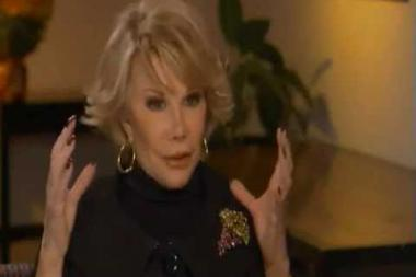 Embedded thumbnail for Joan Rivers on maintaining longevity in show business