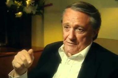 Embedded thumbnail for Robert Vaughn on his dissertation (and later published book) on the Blacklist Only Victims
