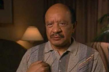"""Embedded thumbnail for Sherman Hemsley on his first """"starring"""" role -- in elementary school"""