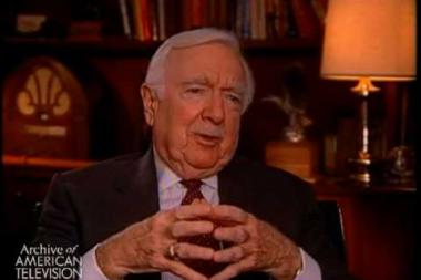 Embedded thumbnail for Walter Cronkite on replacing Douglas Edwards on the CBS Evening news