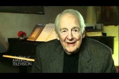 Embedded thumbnail for William Schallert on feeling like he could act, but that he didn't look like an actor