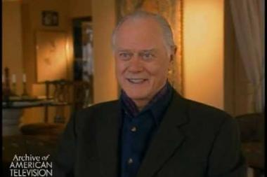 Embedded thumbnail for Larry Hagman on the start of his acting career