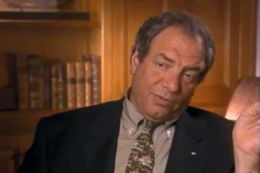Embedded thumbnail for Dick Wolf on reading the newspapers every day