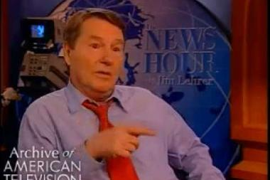 Embedded thumbnail for Jim Lehrer on his favorite memories of NewsHour with Jim Lehrer aka PBS NewsHour