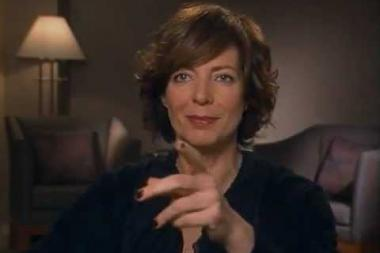 """Embedded thumbnail for Allison Janney on the """"walk and talks"""" on The West Wing"""