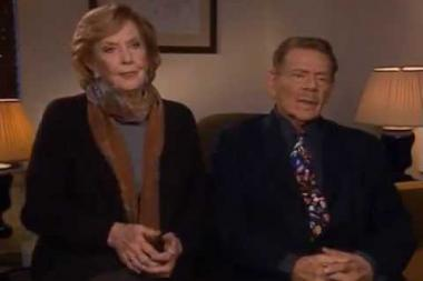 Embedded thumbnail for Jerry Stiller and Anne Meara on the commercial parodies in their act