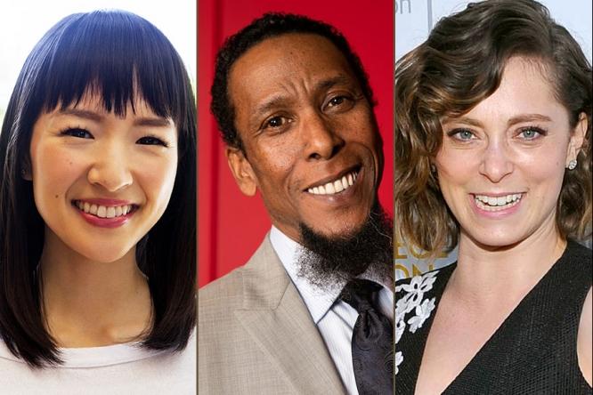 Marie Kondo, Ron Cephas Jones, and Rachel Bloom