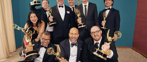 Cast and producers of Key and Peele