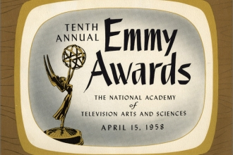 1958 - 10th Emmys Program Cover