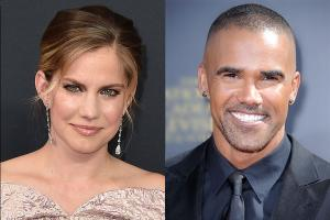 Anna Chlumsky and Shemar Moore