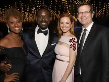 Ryan Michelle Bathe, Sterling K. Brown, Sarah Drew and Peter Lanfer