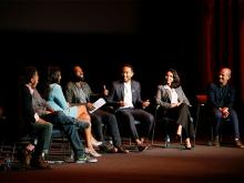 The panel discussion at Unlock Our Potential at the Television Academy's Saban Media Center, August 9, 2016.