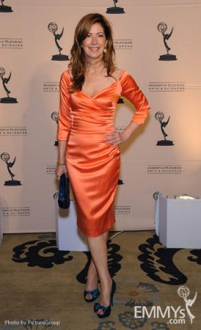 Host Dana Delany arrives at the Fourth Annual Television Academy Honors