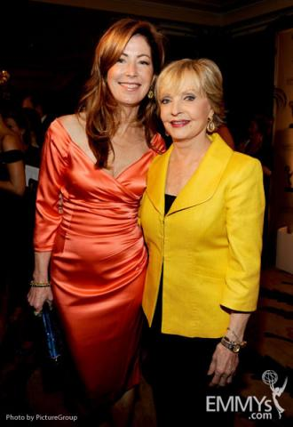 Dana Delany & Florence Henderson at the Fourth Annual Television Academy Honors