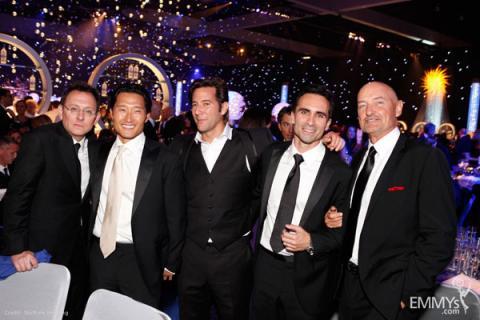 Michael Emerson, Daniel Dae Kim, Henry Ian Cusick, Nestor Carbonnell and Terry O'Quinn