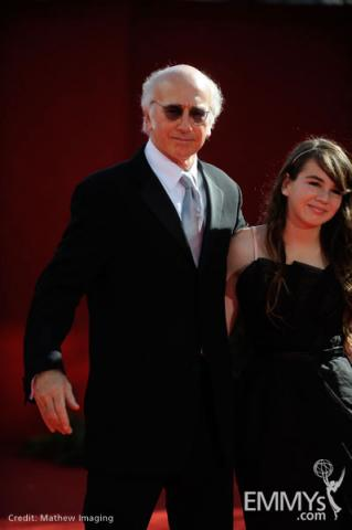 Larry David at the 60th Primetime Emmy Awards