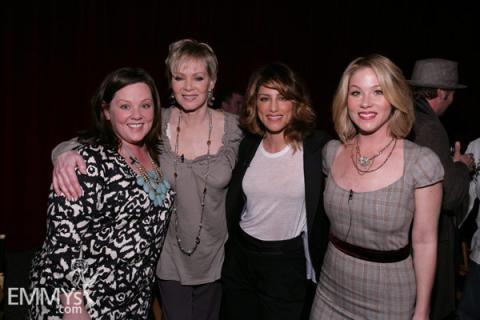 Melissa McCarthy, Jean Smart, Jennifer Esposito & Christina Applegate at An Evening With Samantha Who?