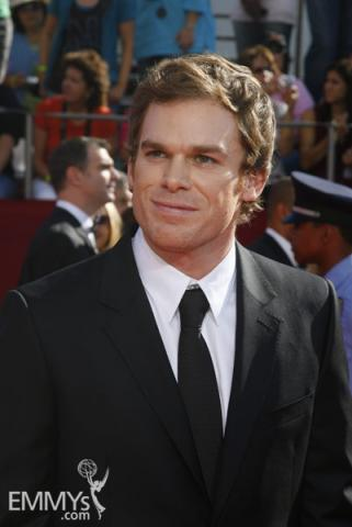 Michael C. Hall at the 60th Primetime Emmy Awards
